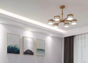 137平的现代北欧风三居室,用木色和灰色打造舒适感